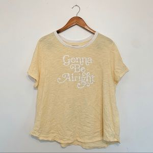 old navy | plus size yellow graphic tee